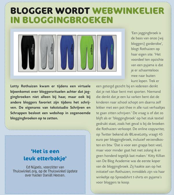 #bloggingbroek in het nieuws