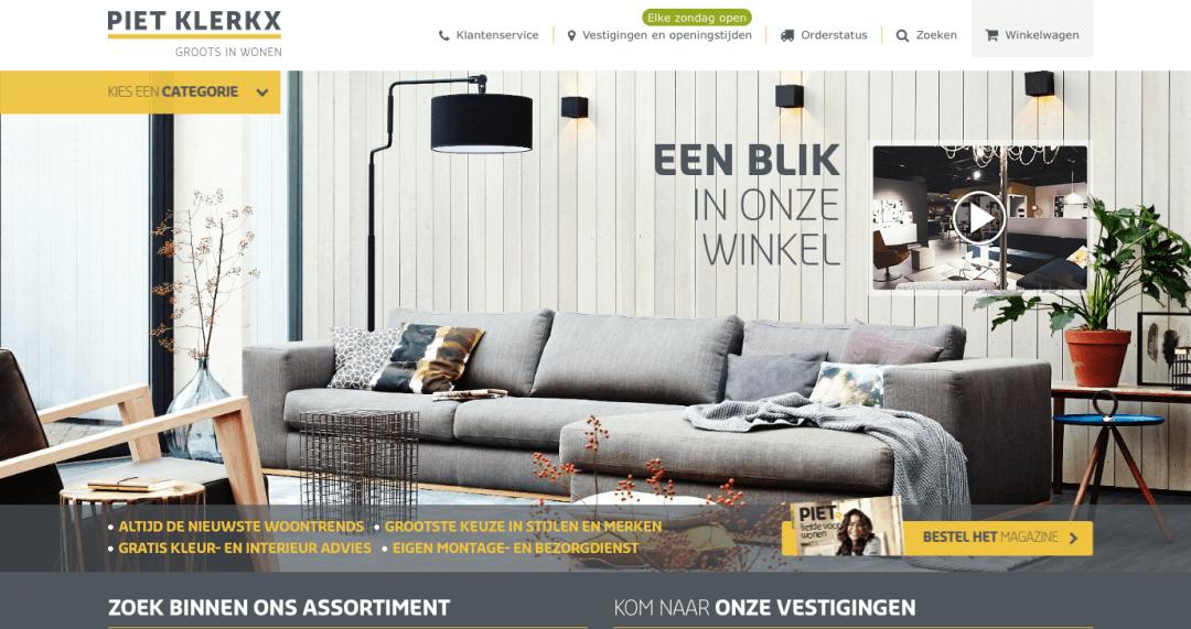 Website Piet Klerkx