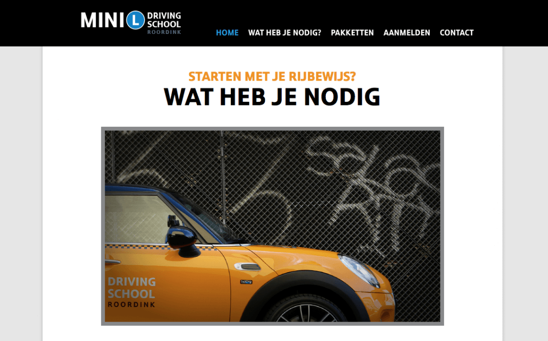 MINI Driving School Roordink